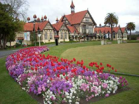 The Rotorua Museum is one of the most photographed buildings in the city.
