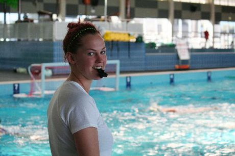 Water polo rep Simone Couvee is one of BayTrust Athlete scholarship winners. Photo / Peter White