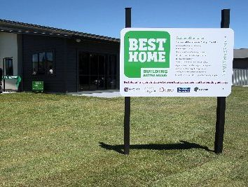 BEST HOME: It's expected this showhome in Havelock North, built under the Best Home Initiative, could fetch $500,000 on the property market. It is waiting to be inspected for a Homestar energy efficiency rating.PHOTO/WARREN BUCKLAND HBT124474-08