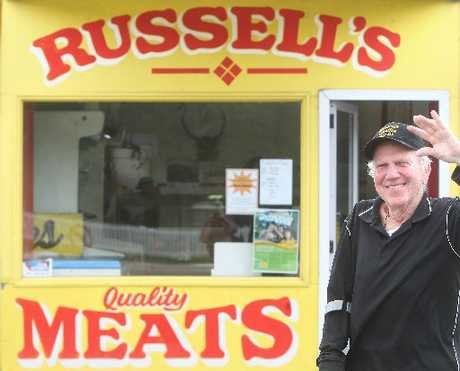 Russell Hicks has retired after 30 years running Russell's Quality Meats.