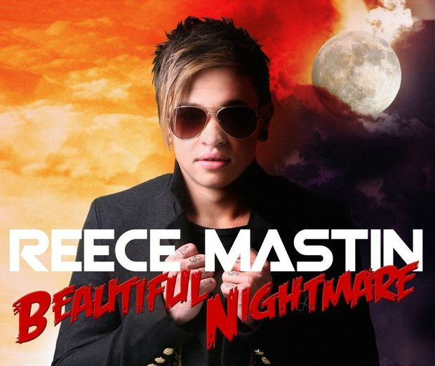 Reece Mastin Beautiful Nightmare album cover. PHOTOGRAPHY JEFF DARMANIN