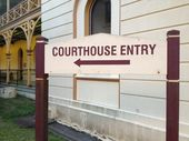"A WOMAN who ""became hysterical"" and stabbed a couple at a Maryborough pub has been given four-and-a-half years in jail – with immediate parole."
