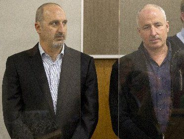 Peter Bennett (left) and Michael Quinlan were found guilty of dealing in cannabis-growing equipment.