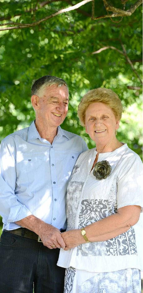 GOLDEN MILESTONE: Joy and Des Whybird celebrated their 50th wedding anniversary.