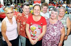 WORTHY CREW: The team from the Salvation Army Family Store Ipswich at the breakfast.
