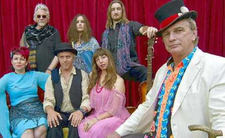 STAR TRIPPERS: S Sorrensen hosts a cast of scarily authentic '60s rockers in the Songs of the Haight Ashbury stage show.