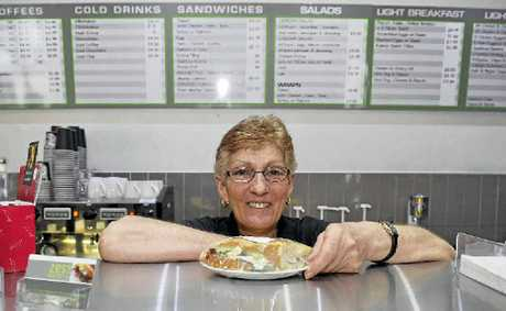 Diana Tagget, owner of Zest Cafe in Goonellabah, refuses to charge her customers a surcharge on weekends. Photo Cathy Adams / The Northern Star