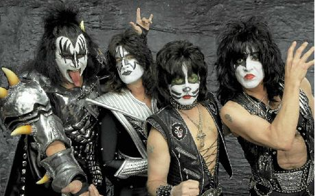 The Kiss concert in Mackay is almost sold out.