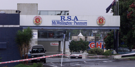 The Panmure and Mt Wellington RSA, where William Bell killed three workers and seriously injured another in 2001