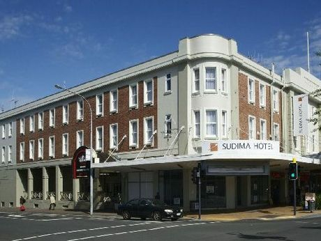 Sudima Hotel, on the corner of Collingwood and Victoria streets, gives the former and historic Commercial Hotel a new lease on life.