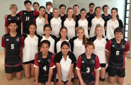 Te Puke High School's boys' and girls' junior volleyball teams had a fine week at the new ASB Stadium in Wellington