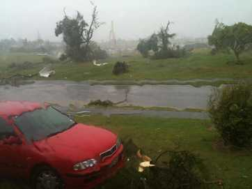 Readers photos of the big storm which killed three people in West Auckland.