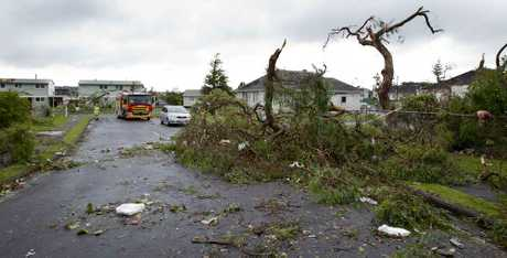 The tornado that struck Auckland yesterday claimed three lives.