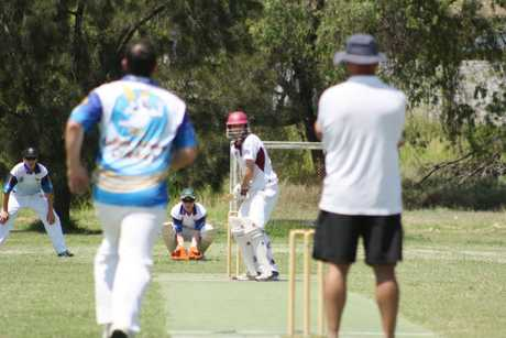 The Central Highlands Hawks reigned triumphant, winning both matches in round two of the Central Queensland Cricket Championships in Emerald at the weekend. Photo Sam Woods / CQ News