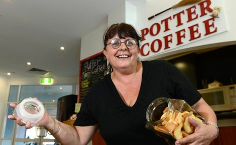 Harry Potter coffee shop, Rowena Coleman. Photo: John Gass / Daily News