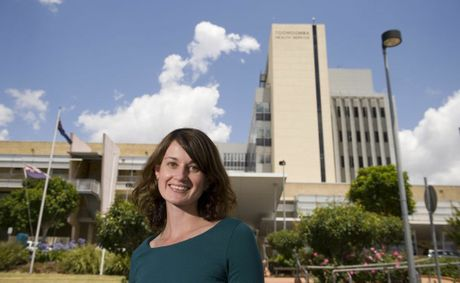 Toowoomba Hospital Foundation research scholarship recipient Melissa Kaltner.
