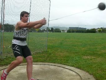 LAST CHAMPIONSHIPS: Alex Fafeita is favoured to repeat his hammer throw success of 2011.