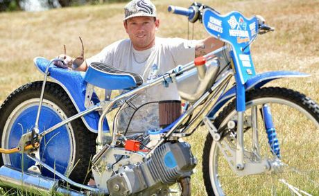 Josh Coyne is rapidly progressing in his speedway solo bike racing career.