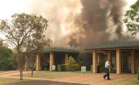 It's been a busy time for fire crews in Dalby.