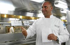 P&amp;O Cruises Pacific Dawn executive chef Alex Keck.
