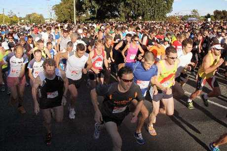 Challenge yourself: Runners, joggers and walkers at the start of this year's City2Surf event at Centennial Park.