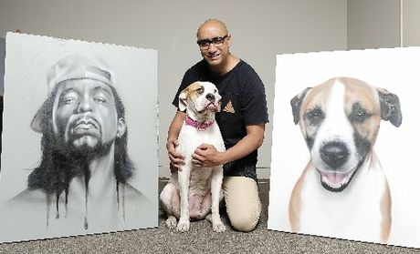 Graffiti artist Graham Hoete (aka Mr G) plans to move to New York to work towards developing a potential television series that will follow him on his journey to paint portraits of celebrities' dogs.