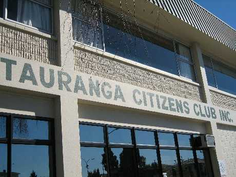We meet at the Tauranga Citizens' Club.