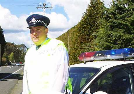 Acting Senior Sergeant Cam Anderson of the Tauranga Police 