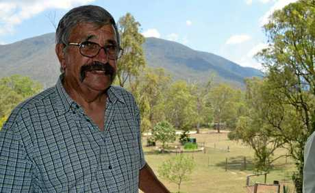 GREENING EMU VALE: Bill Enggist's property has become the first site for Condamine Alliance's Enrich program.