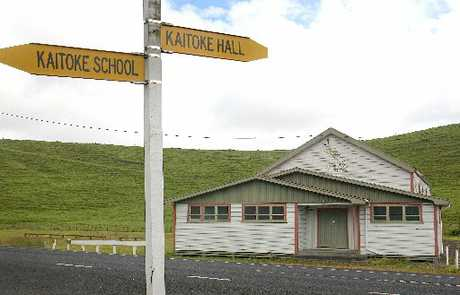 ON THE WAY OUT: Kaitoke Hall is unused and the New Zealand Transport Agency wants to sell it for removal.PHOTO/BEVAN CONLEY