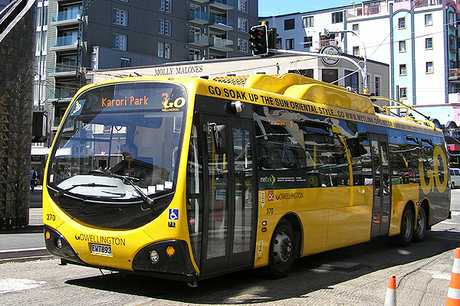 A Wellington bus driver swore at her boss and, when fired, took her to court to try and get her job back. NOTE: This is a file pic, not the bus in question. 