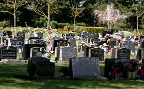Estimates show Hastings cemeteries are filling fast. Photo / File