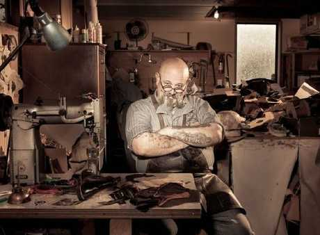 LAMB UNLEASHED: Carterton leather artist Trevor Lamb is holding a leather and tattoo art exhibition at the Carterton Events Centre in March next year that he plans to open with the roar of about 100 motorcycles.
