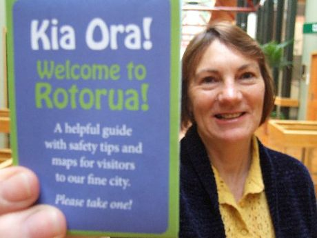Rotorua District Council community safety projects officer Linda Johnston.