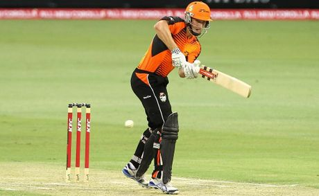 Opening batsman Shaun Marsh of the Scorchers.