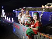 BRASSALL'S Gangnam Style dancing Christmas light display has taken out the top spot in the Ipswich Sparkles Christmas Lights competition.