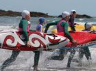 About 160 nippers donned their stinger suits and descended on Yeppoon Main Beach for an action-packed day of activities.