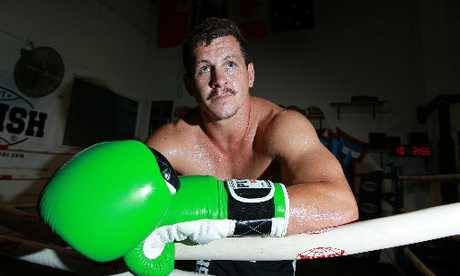 Greg Bird will do his talking in the ring this weekend when he takes on Rene Ranger at the Fight For Life. Photo / Supplied