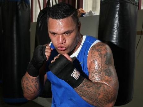 Hika Elliot will not just carry personal pride but also the expectations of a sporting code and country when he climbs into the ring for the charity Fight for Life on Saturday in Auckland. Photo / Duncan Brown