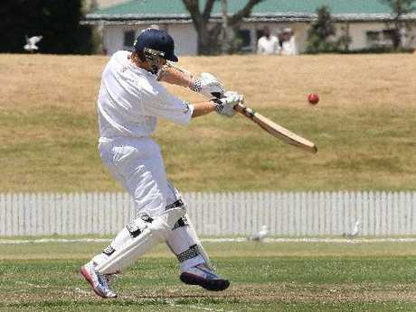 Black Cap Kane Williamson batting for Bay of Plenty at the Bay Oval over the weekend. Photo / George Novak