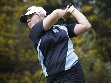 Sjanna Bonnington is among the Northland women's senior interprovincial golf team which kicks off in Dunedin today. Photo / Michael Cunningham
