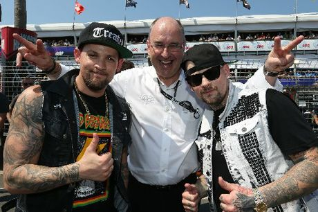 Tony Cochrane revitalised V8 Supercars by introducing entertainment such as Good Charlotte. Photo / EDGE Photographics