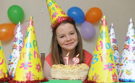 Elyse Wallace from Urraween turning 12 on the 12/12/12. Photo: Alistair Brightman / Fraser Coast Chronicle