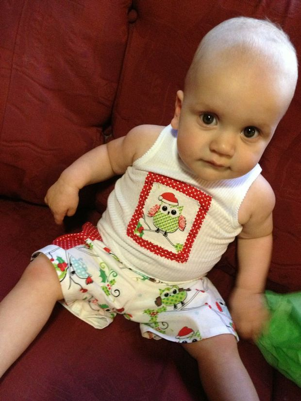 Darcy James Hodda will turn one on 12/12/12