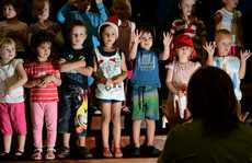 Bilambil Pre-school end of year Christmas production.