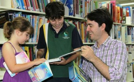 Councillor George Seymour says school holiday activities are a great way to introduce children to libraries as fun and active spaces.