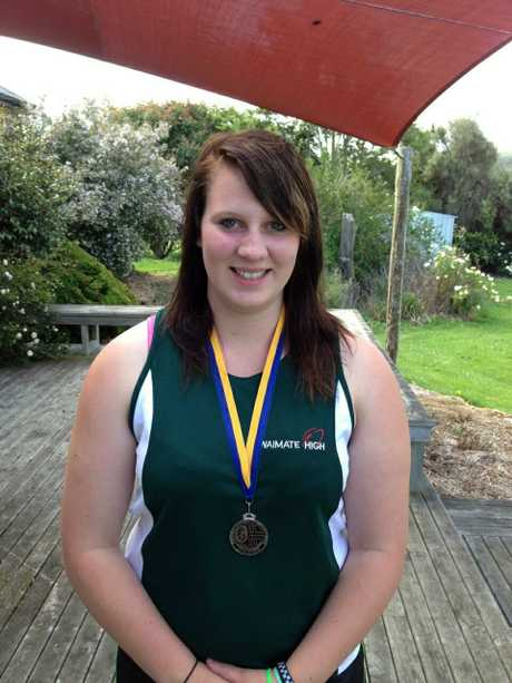 SILVER SURPRISE: Waimate's Ruby Cochrane. PHOTO/SUPPLIED
