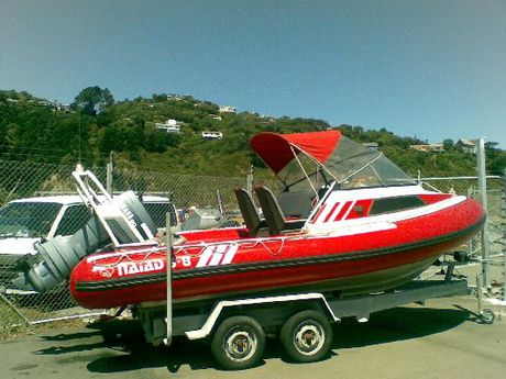 Have you seen this boat? It was stolen from Whangarei Heads. Photo / Supplied