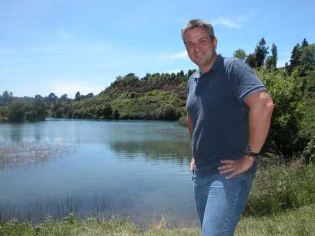 LONG WAY TO GO: Craig Stephenson hopes to raise awareness of declining water quality and Third World access to clean water during an epic swim down the length of the Waikato River next year.