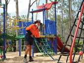 WILSONTON residents are up in arms after the removal of the playground at Barlow Street Park.